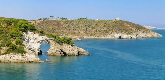La meravigliosa costa del Gargano partendo da sud