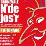 Carnevale N de Jos r balli maschere e gastronomia a Putignano