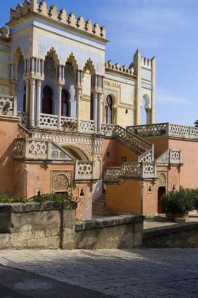 Palazzo Sticchi a Santa Cesarea Terme